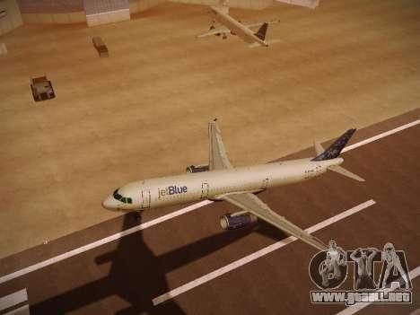 Airbus A321-232 Lets talk about Blue para la vista superior GTA San Andreas