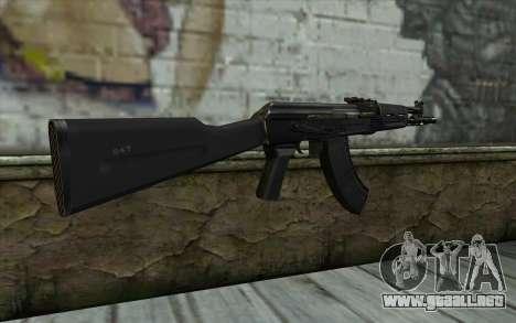 El AK-104 para GTA San Andreas segunda pantalla