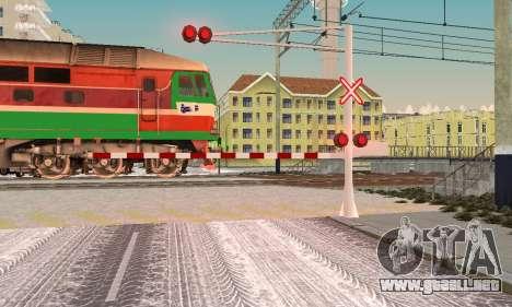 Nuevas texturas para el tráfico ferroviario para GTA San Andreas