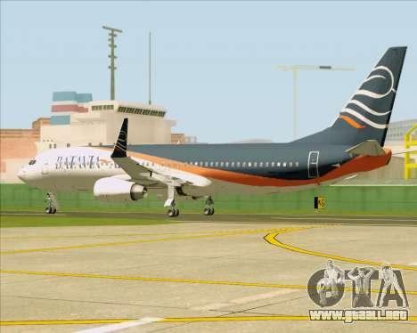 Boeing 737-800 Batavia Air (New Livery) para visión interna GTA San Andreas