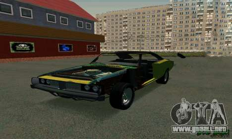 Dodge Charger HL2 EP2 para GTA San Andreas