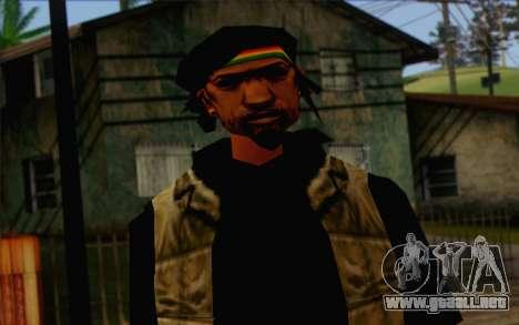Yardies from GTA Vice City Skin 1 para GTA San Andreas tercera pantalla