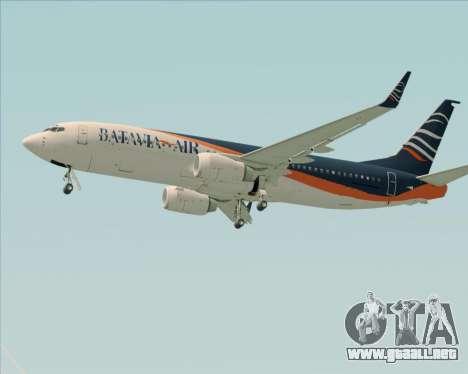 Boeing 737-800 Batavia Air (New Livery) para GTA San Andreas interior