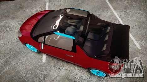Citroen DS3 Convertible para GTA 4 visión correcta