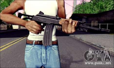 IMI Galil para GTA San Andreas tercera pantalla