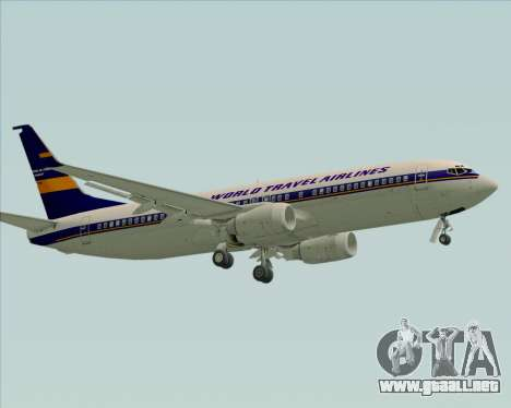 Boeing 737-800 World Travel Airlines (WTA) para GTA San Andreas left