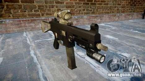 Pistola de UMP45 UN ejército de fans de la piel  para GTA 4