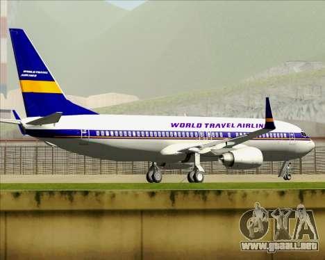 Boeing 737-800 World Travel Airlines (WTA) para GTA San Andreas