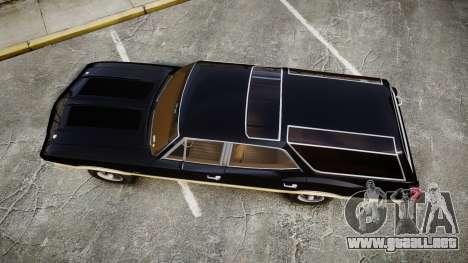 Oldsmobile Vista Cruiser 1972 Rims2 Tree1 para GTA 4 visión correcta