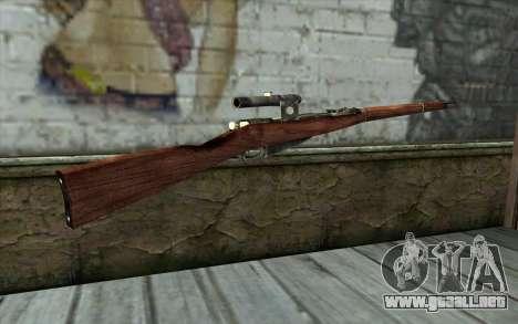 Mosin (Battlefield: Vietnam) para GTA San Andreas segunda pantalla
