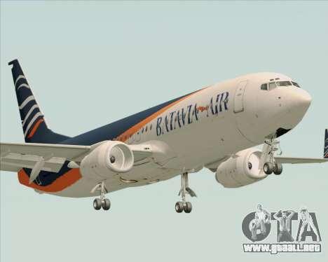 Boeing 737-800 Batavia Air (New Livery) para GTA San Andreas