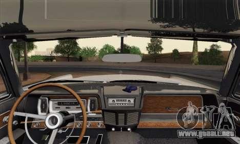Lincoln Continental Sedan (53А) 1962 (HQLM) para GTA San Andreas vista posterior izquierda