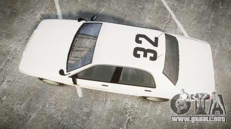 GTA V Vapid Cruiser LSS White [ELS] Slicktop para GTA 4 visión correcta