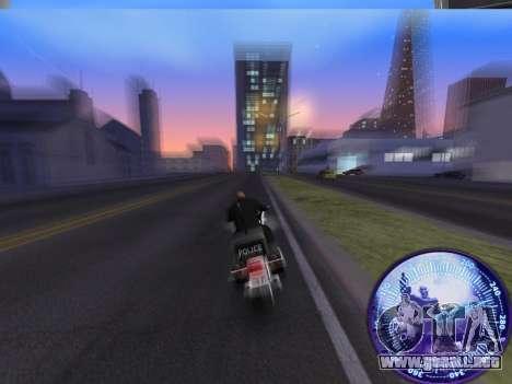 Velocímetro HITMAN para GTA San Andreas tercera pantalla