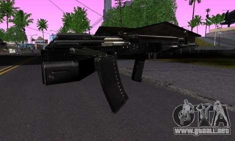 Guerra para GTA San Andreas segunda pantalla
