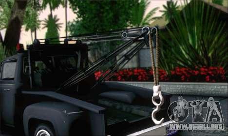 GTA 5 Towtruck para GTA San Andreas vista posterior izquierda