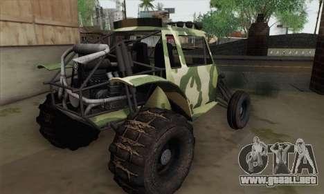 Military Buggy para GTA San Andreas left