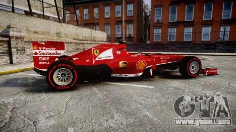 Ferrari F138 v2.0 [RIV] Massa TSSD para GTA 4 left