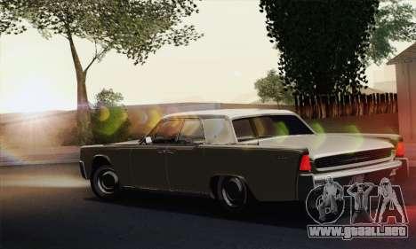 Lincoln Continental Sedan (53А) 1962 (HQLM) para GTA San Andreas left