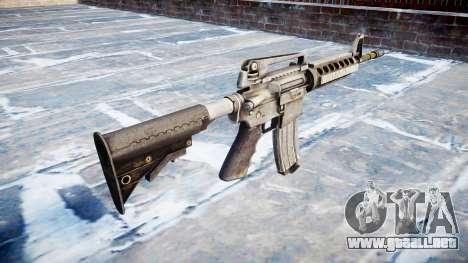 Automático de la carabina M4A1 para GTA 4 segundos de pantalla