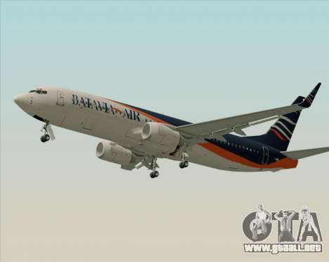 Boeing 737-800 Batavia Air (New Livery) para la visión correcta GTA San Andreas
