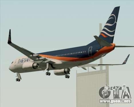 Boeing 737-800 Batavia Air (New Livery) para las ruedas de GTA San Andreas