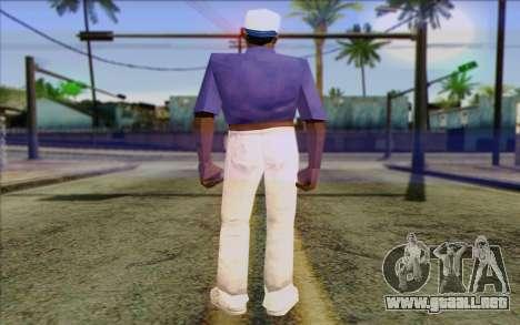 Haitian from GTA Vice City Skin 1 para GTA San Andreas segunda pantalla