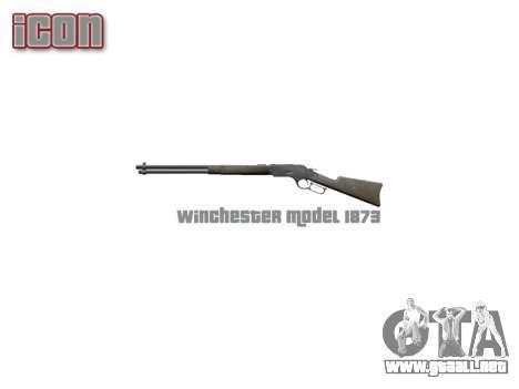 El Rifle Winchester Modelo 1873 icon2 para GTA 4 tercera pantalla