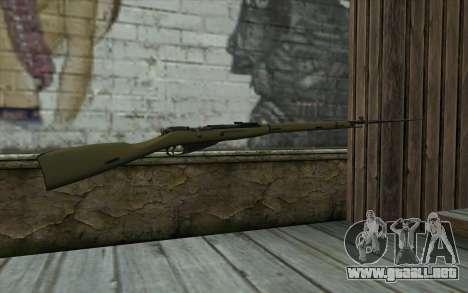 Mosin-v11 para GTA San Andreas segunda pantalla