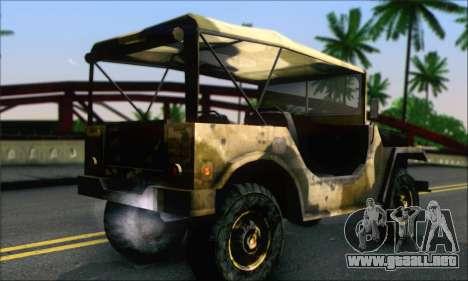 Iguana From Mercenaries 2 World in Flames para GTA San Andreas left