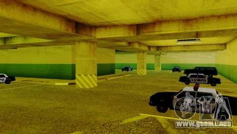Vehículos nuevos en el LVPD para GTA San Andreas sucesivamente de pantalla