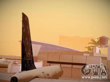 Airbus A321-232 Lets talk about Blue para vista lateral GTA San Andreas