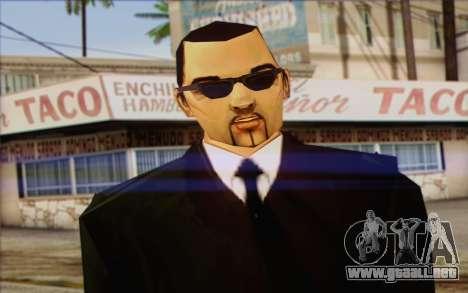 Leone from GTA Vice City Skin 2 para GTA San Andreas tercera pantalla