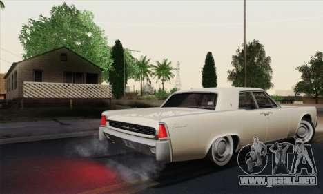 Lincoln Continental Sedan (53А) 1962 (HQLM) para la visión correcta GTA San Andreas