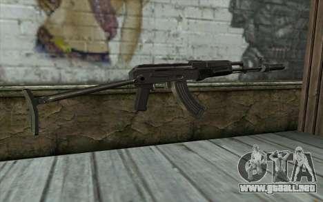 AKMS con CBE para GTA San Andreas segunda pantalla
