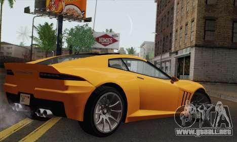 GTA 5 Invetero Coquette (IVF) para GTA San Andreas left