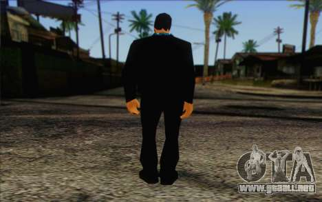 Yakuza from GTA Vice City Skin 2 para GTA San Andreas segunda pantalla