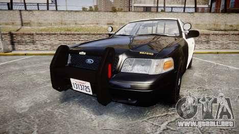 Ford Crown Victoria LASD [ELS] Slicktop para GTA 4