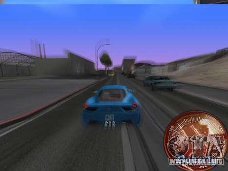 Velocímetro HITMAN para GTA San Andreas segunda pantalla
