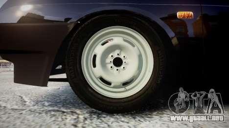 VAZ-2109 escorrentía para GTA 4 vista hacia atrás