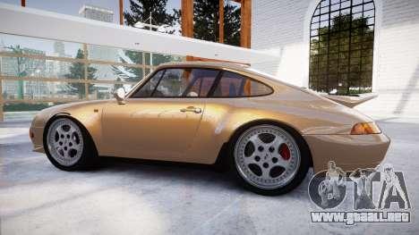 Porsche 911 Carrera RS 993 1995 para GTA 4 left