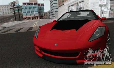 GTA 5 Invetero Coquette para GTA San Andreas vista posterior izquierda