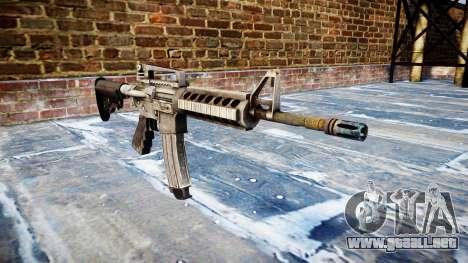 Automático de la carabina M4A1 para GTA 4