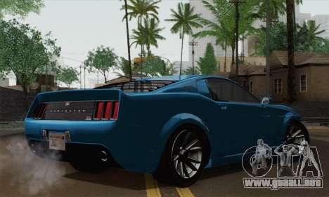 GTA 5 Dominator para GTA San Andreas left