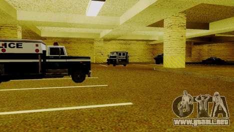 Vehículos nuevos en LSPD para GTA San Andreas sexta pantalla