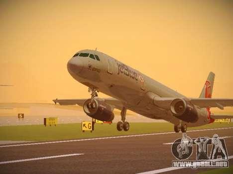 Airbus A321-232 jetBlue Boston Red Sox para GTA San Andreas