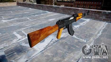 Kalashnikov para GTA 4 segundos de pantalla