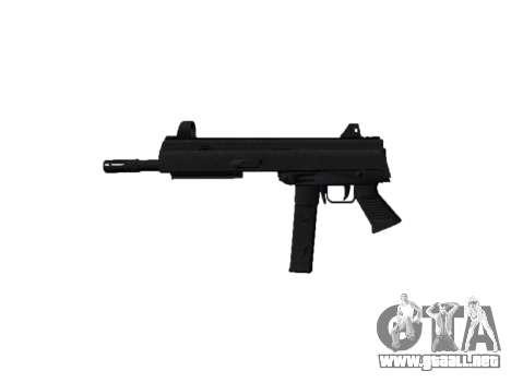 Pistola de SMT40 no a tope icon2 para GTA 4 tercera pantalla