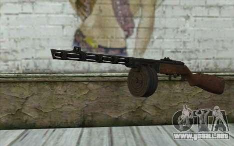 PPSH-41 v2 para GTA San Andreas