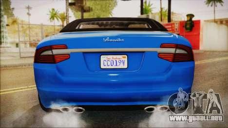 Lampadati Felon GT (IVF) para la visión correcta GTA San Andreas